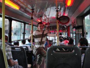 busz tangó Buenos Aires
