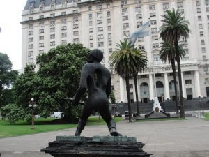 hadügyminisztérium Buenos Airesben