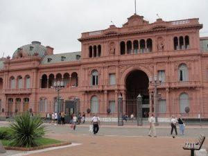 La casa rosada Buenos Aires