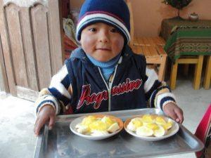 kicsi boliviai gyerek