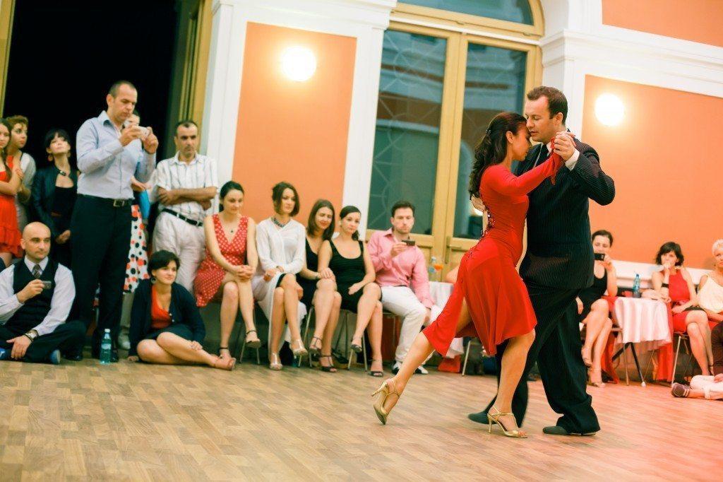 Szeghalmi Endre - Glotz Mária -argentine tango Budapest