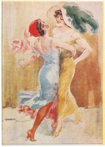 A nők táncolnak