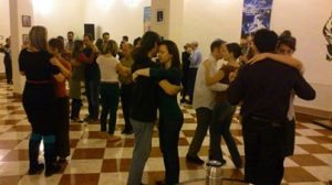 Embrace and Tango in Budapest