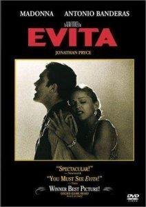 Madonna-Evita-Antonio Banderas