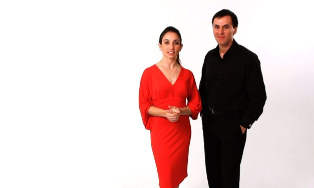 Tango Embrace by Diego Blanco and Ana Pedrón
