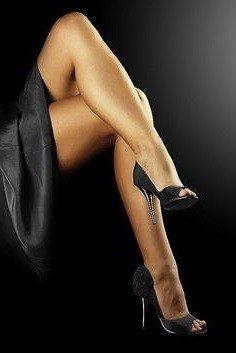 Vonzó női lábfej – Liz Bayley tangótechnikája