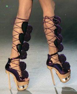 nagy sarok cipő