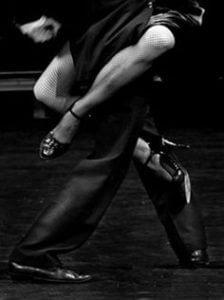 argentin tango - női technika