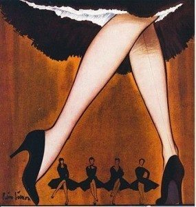 argentin tangó kereszt