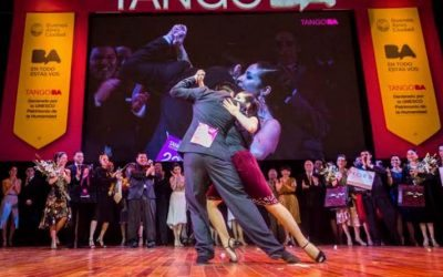 World champions of tango 2015 – Tango de pista