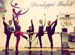 jóga developpe