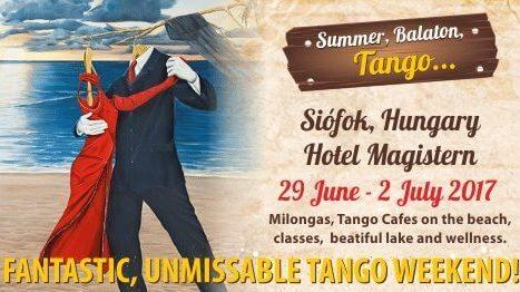 Summer Tango Weekend & Wellness at the Lake Balaton