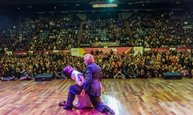 Incredible choreography wins the tango escenario category at the 2016 tango world championship