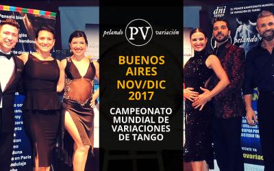 Pelando Variacion Tango World Championship 2017