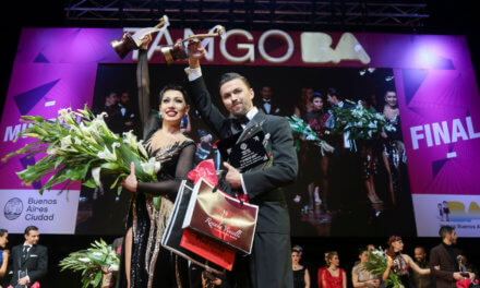 Megtörtént a csoda! Az új színpadi tangó világbajnok 2018-ban, Buenos Airesben orosz!!!