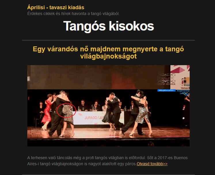 Tangós Kisokos