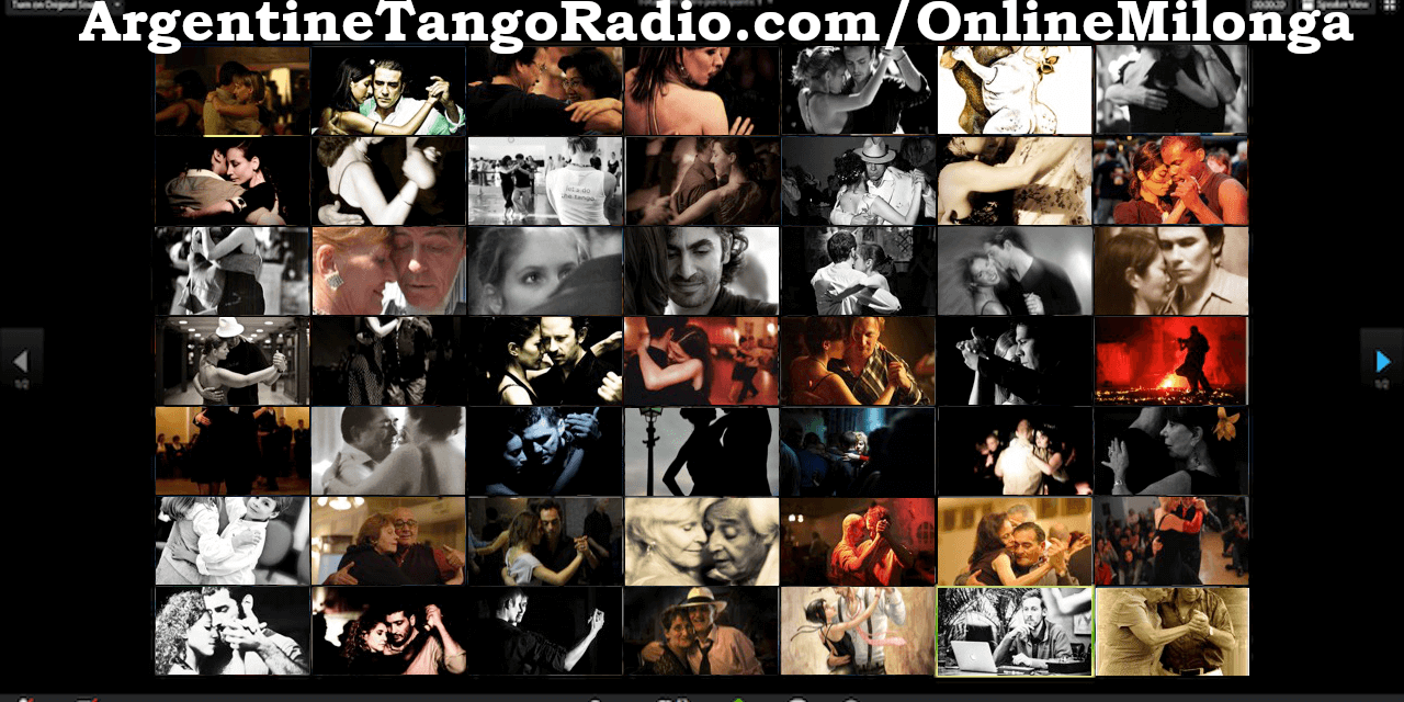 Live Virtual Milonga – tonight we dance together with ZOOM