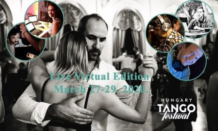Are you ready for the first Virtual Tango Festival in the World? It's free and it is coming.