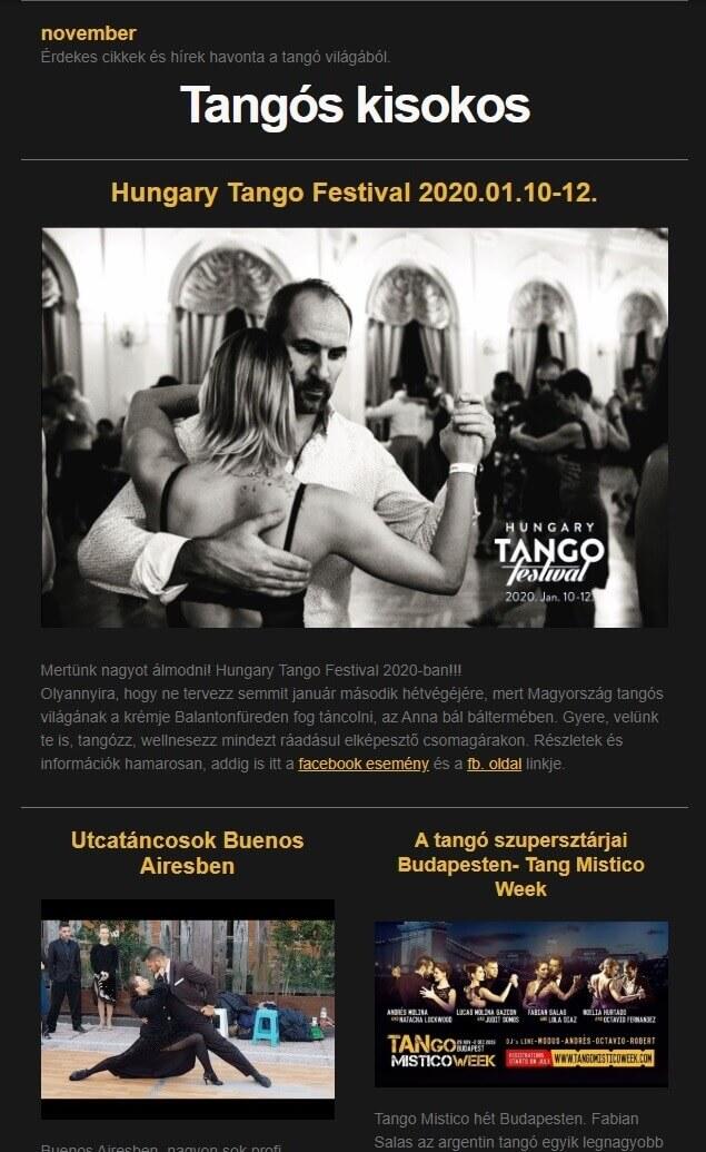 Tangós Kisokos 2019 nov