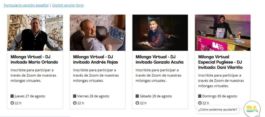 Milonga Virtual