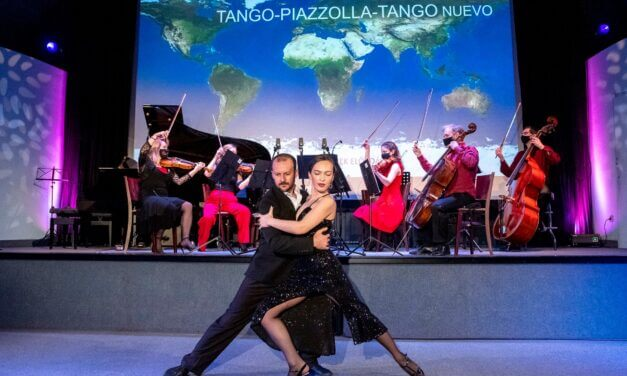 Esti program – Piazzolla 100 emlékkoncert táncosokkal a Budapest Jazz Clubban a Máv Szimfonikus Zenekarral