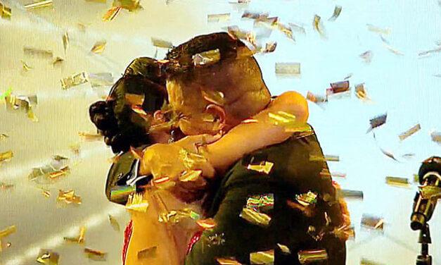 Tango Golden Buzzer for Gaspar Godoy, the 2003 World Tango Champion in Uruguay Got Talent