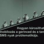 Hogyan károsíthatja a mobiltelefonozás a gerinced és a tangód? Az SMS nyak és a megoldások.