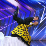 Check out when a tango couple is pushed to the stage and they had a huge success in AGT