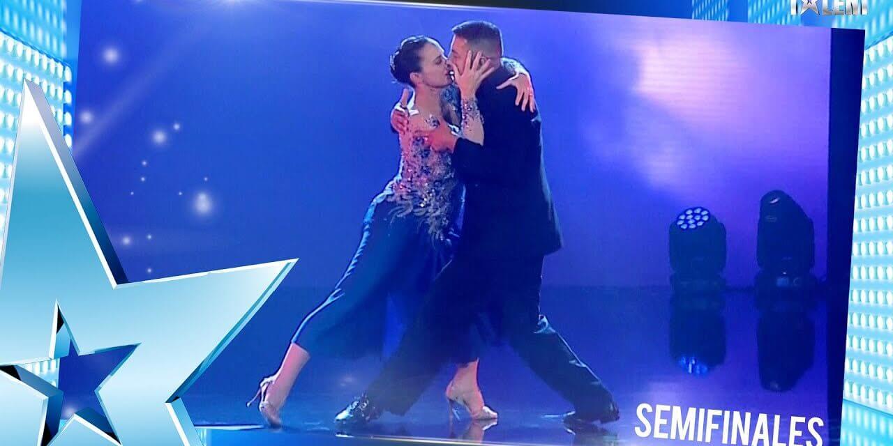 Gaspar Godoy és párja a döntőbe került az Uruguay Got Talentben egy érzelmes tangós koreográfiával.