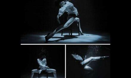 A táncosnő, aki tangót táncol 10 méter mélyen, magassarkúban, szabad tüdővel, búvárfelszerelés nélkül!